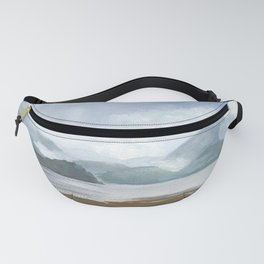SITKA SOUND 01, Travel Sketch by Frank-Joseph Fanny Pack