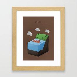 Cuteness Framed Art Print