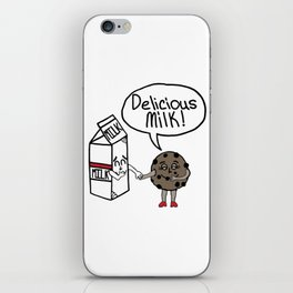 Delicious Milk iPhone Skin