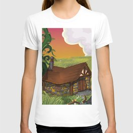 Jack and the Beanstalk Cottage in the evening T-shirt