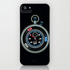 race against time iPhone (5, 5s) Slim Case