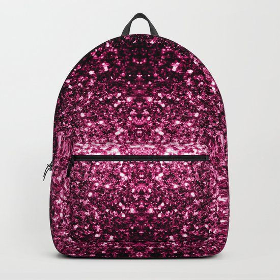 Beautiful Pink glitter sparkles Backpack
