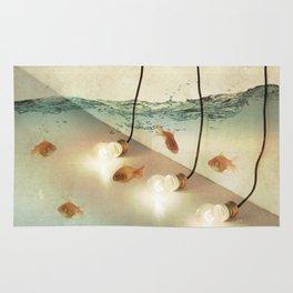 ideas and goldfish Rug