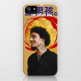 """The Golden Boy"" ft Wifisfuneral (2017) iPhone Case"