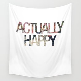 Actually // Happy Wall Tapestry