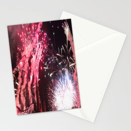 Fireworks in the Magic Kingdom Stationery Cards