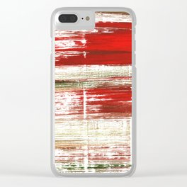 Bright abstract Clear iPhone Case