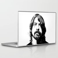 dave grohl Laptop & iPad Skins featuring DAVE... by mabuna