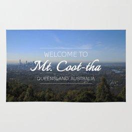 Mt. Coot-tha, Brisbane, Australia Rug