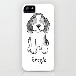 Dog Breeds: Beagle iPhone Case