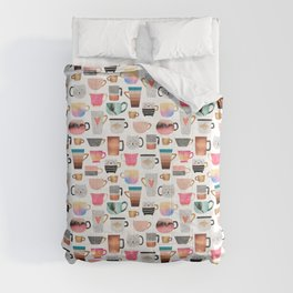 Coffee Cup Collection Comforters