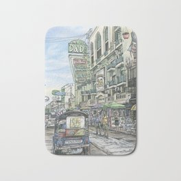 One day in Bangkok Bath Mat