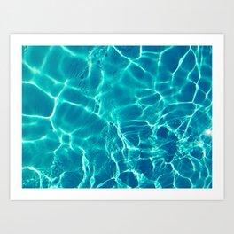 eau Art Print