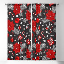 Christmas decoration pattern design Blackout Curtain