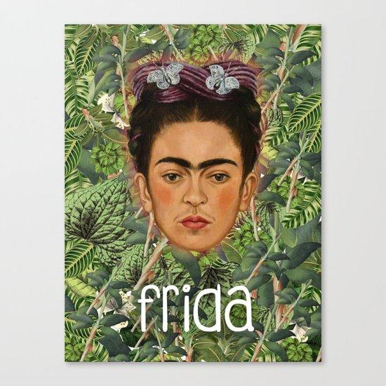 Frida Plantas 001 Canvas Print