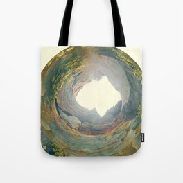 Hidden Mountain Archway Tote Bag