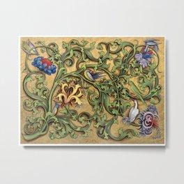 Hours Of Charles Of Angouleme Metal Print