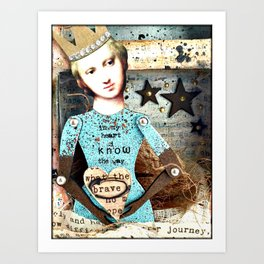 In my Heart I know the Way Art Print