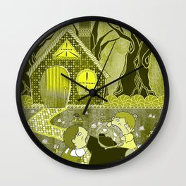 Time For a Snack Wall Clock