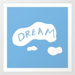Dream Duvet Art Print