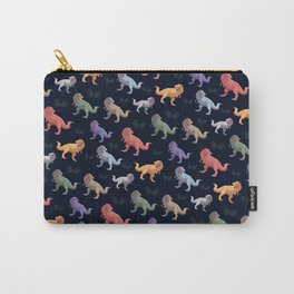 Dinosaur dino t rex Pattern Gift Carry-All Pouch