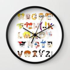 Child of the 90s Alphabet Wall Clock