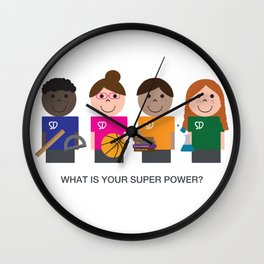 What is your super power? Wall Clock