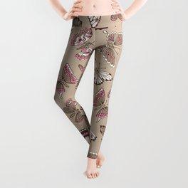 Butterflies pattern Leggings