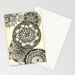 Mandala Cascade Stationery Cards