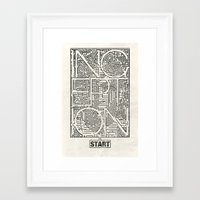 inception Framed Art Prints featuring Inception by Messypandas