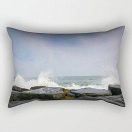 Ocean Waves - Asbury Park Rectangular Pillow
