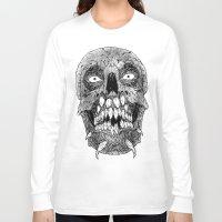 teeth Long Sleeve T-shirts featuring Teeth by PCRK