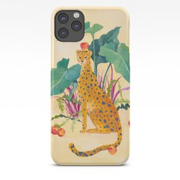Cheetah and Apples iPhone Case