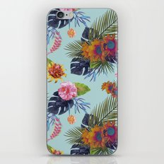 TROPICAL FLORAL iPhone & iPod Skin