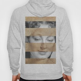 Leonardo da Vinci Head of Woman & Ava Gardner Hoody