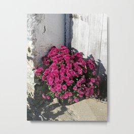 Rustic Bouquet Metal Print