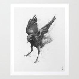 Common Crow [2] Art Print