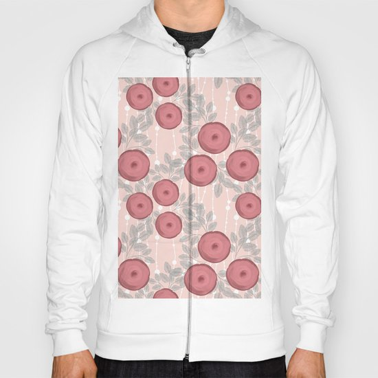 Abstract, floral pattern . Hoody