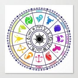 Zodiac Canvas Print