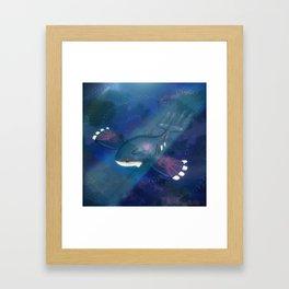 Kyogre One. Framed Art Print