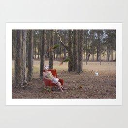 The Rabbit Burrow Art Print