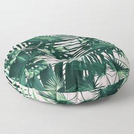 Tropical Jungle Leaves Siesta #3 #tropical #decor #art #society6 Floor Pillow