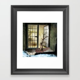 Transposed Framed Art Print