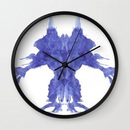 Rorschach Monster Wall Clock