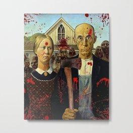 American Gothica Metal Print