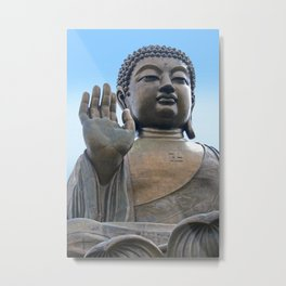 Buddhism - Tian Tan Buddha 144 - Hong Kong Metal Print