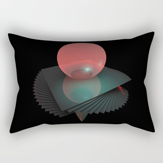 Gravity Layers Rectangular Pillow