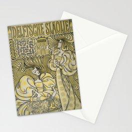 Poster for Delft Salad Oil - Jan Toorop (1894) Stationery Cards