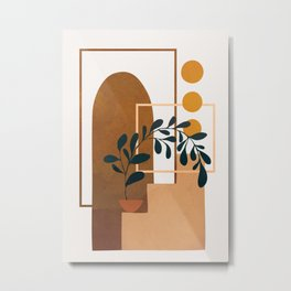 Modern Abstract Art 50 Metal Print