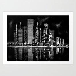 Steel City Art Print